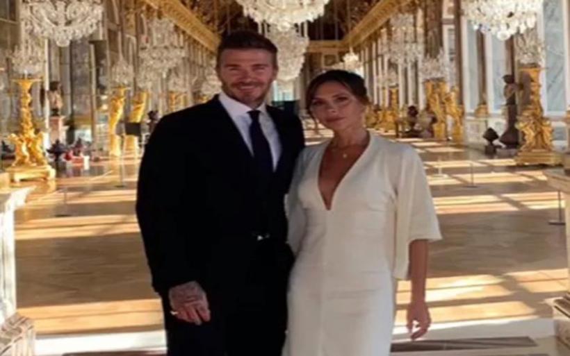 O David Beckham πήγε την Victoria για την 20η επέτειό τους στο παλάτι των Βερσαλλιών!