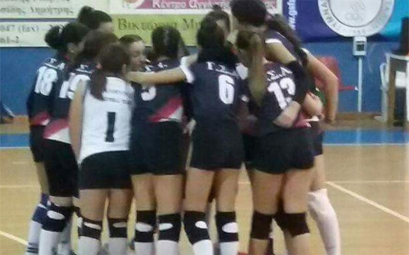 Νίκη στην πρώτη αγωνιστική για την ομάδα βόλεϊ γυναικών του ΓΣΑ