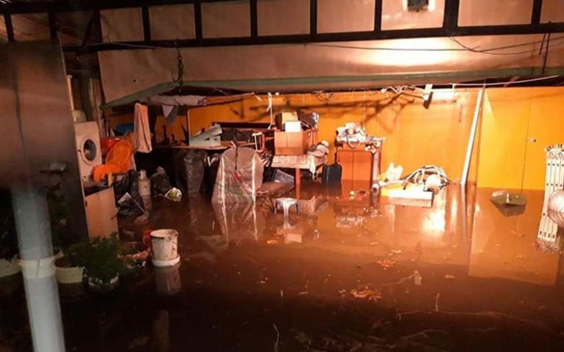 Πύργος: Τουλάχιστον 30 σπίτια και 20 καταστήματα υπέστησαν ζημιές από την κακοκαιρία