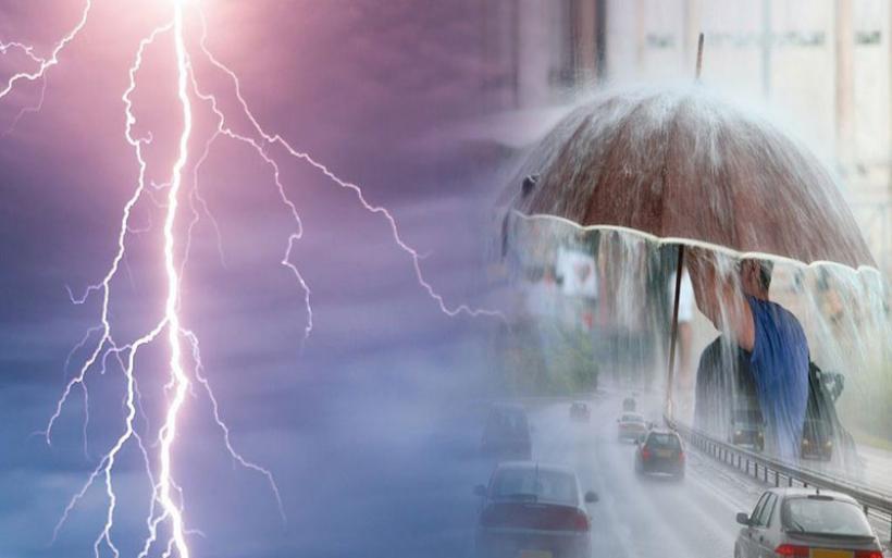 Βροχές και καταιγίδες το Σαββατοκύριακο και στη Μαγνησία