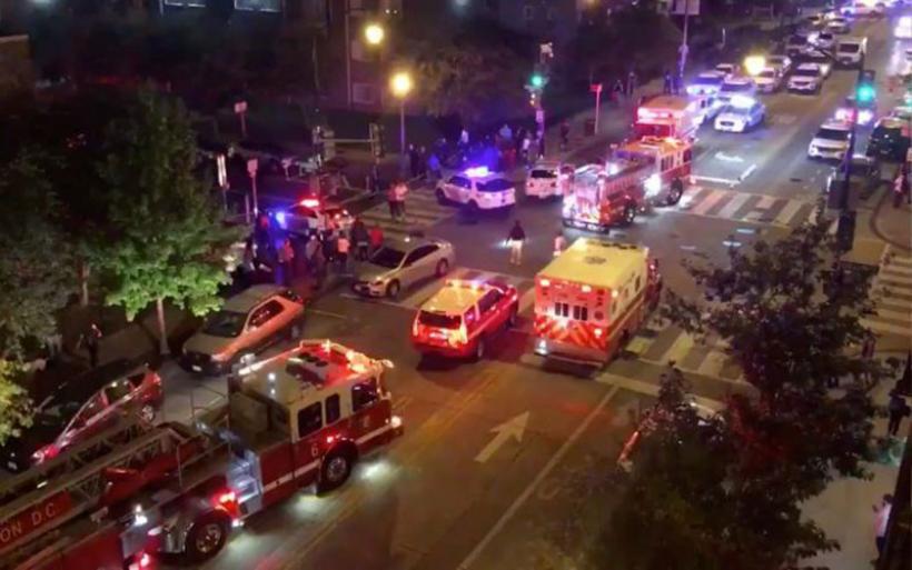 Ένας νεκρός και πέντε τραυματίες κοντά στον Λευκό Οίκο