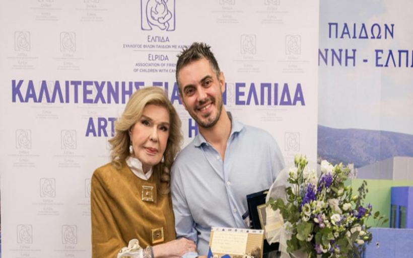 «Καλλιτέχνης για την ΕΛΠΙΔΑ 2019-2021» ανακηρύχθηκε ο Μιχάλης Χατζηγιάννης