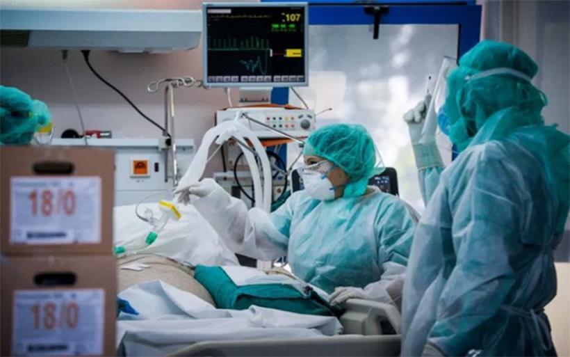 """5.384 μέρες νοσηλείας για ασθενείς με κορωνοϊό από την αρχή της πανδημίας στο """"Αχιλλοπούλειο"""""""