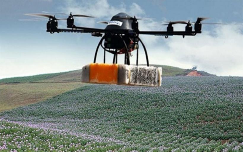 Τα drones... «μάτι» των παραγωγών στα χωράφια της Θεσσαλίας