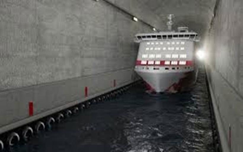 Η Νορβηγία κατασκευάζει την πρώτη σήραγγα για πλοία (vid)