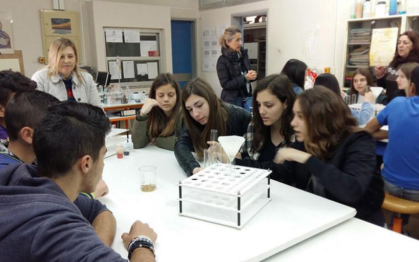 Διδακτική επίσκεψη Γ' τάξης Γυμνασίου Ευξεινούπολης στο ΕΚΦΕ Βόλου