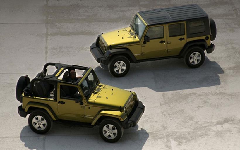 Ανακαλούνται 943 Jeep Wrangler μοντέλα, 2007–2010 για έλεγχο του αερόσακου οδηγού