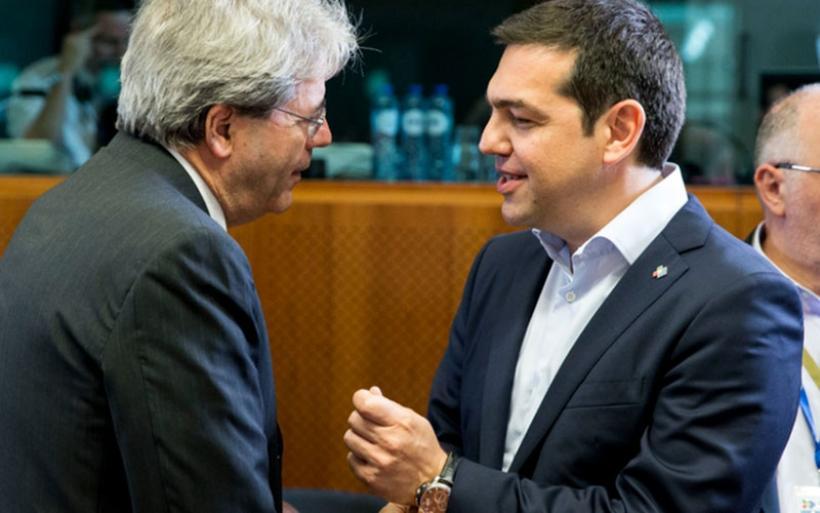 Το μέλλον της Ευρώπης στην ατζέντα των συνομιλιών Τσίπρα -Τζεντιλόνι