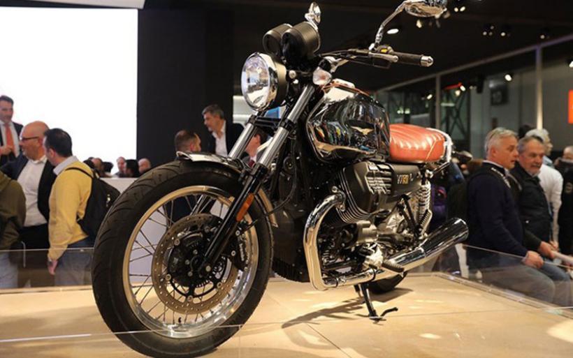 H Moto Guzzi γιορτάζει με μια εξαιρετική μοτοσικλέτα
