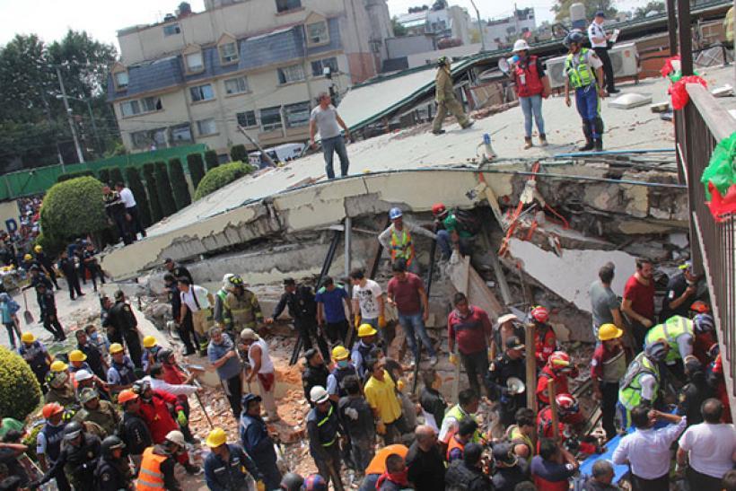 Τραγική σύμπτωση στο Μεξικό: 10.000 νεκροί στον σεισμό του 1985