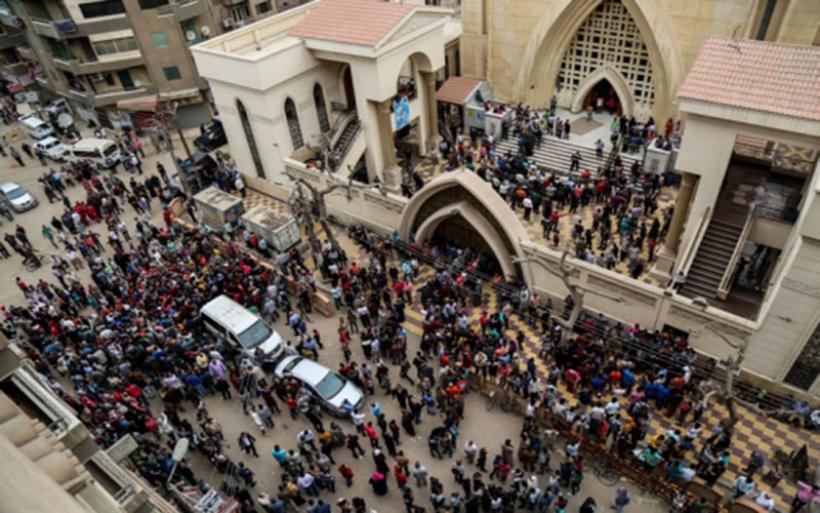 Ματωμένη Κυριακή των Βαΐων: Τζιχαντιστές έπνιξαν στο αίμα τους χριστιανούς της Αιγύπτου