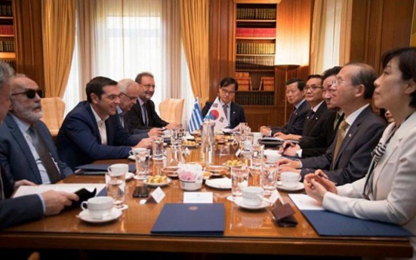 Λι Νακ Γιον σε Τσίπρα: Ευχαριστούμε που η Ελλάδα βρίσκεται στο πλευρό μας