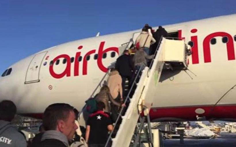 Επιδημία «χρεοκοπίας» κόλλησαν οι πιλότοι της Air Berlin που δηλώνουν μαζικά ασθενείς