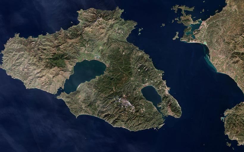 Η Λέσβος απομακρύνθηκε 4,4 εκ. από τη Χίο μετά τον σεισμό των 6,3 Ρίχτερ