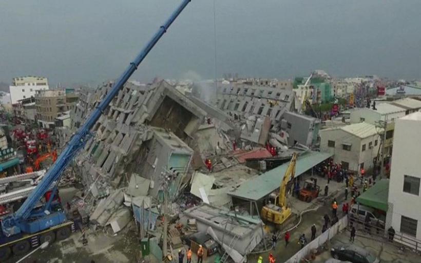 Ταϊβάν: Τέσσερις νεκροί και εκατοντάδες τραυματίες από τον σεισμό