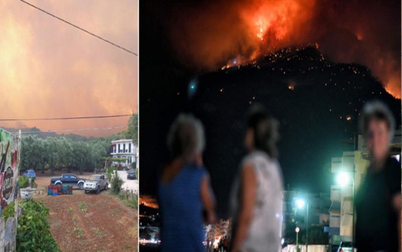 Φωτιά στη Ζάκυνθο: Δύσκολη νύχτα, πάνω από 10 χλμ. το μέτωπο