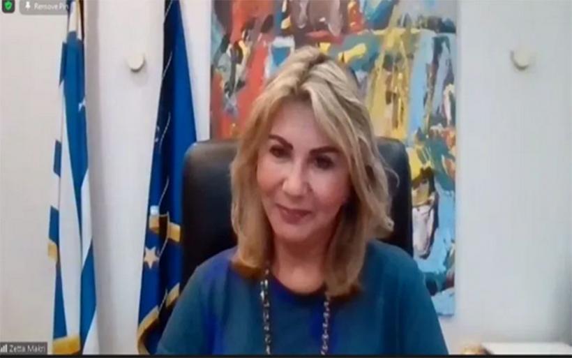 Τηλεδιάσκεψη της Ζέττας Μακρή και της Σοφίας Ζαχαράκη με φορείς του τουρισμού στη Μαγνησία