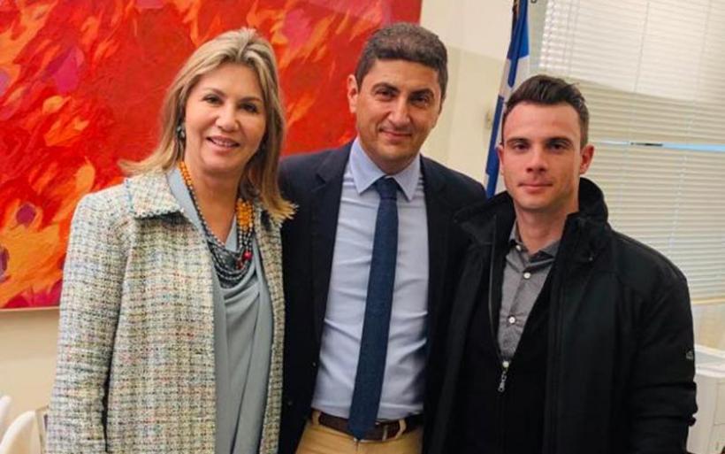 Βράβευση Ζ. Μακρή από Τοπική Επιτροπή Ποδηλασίας Κεντρικής Ελλάδος