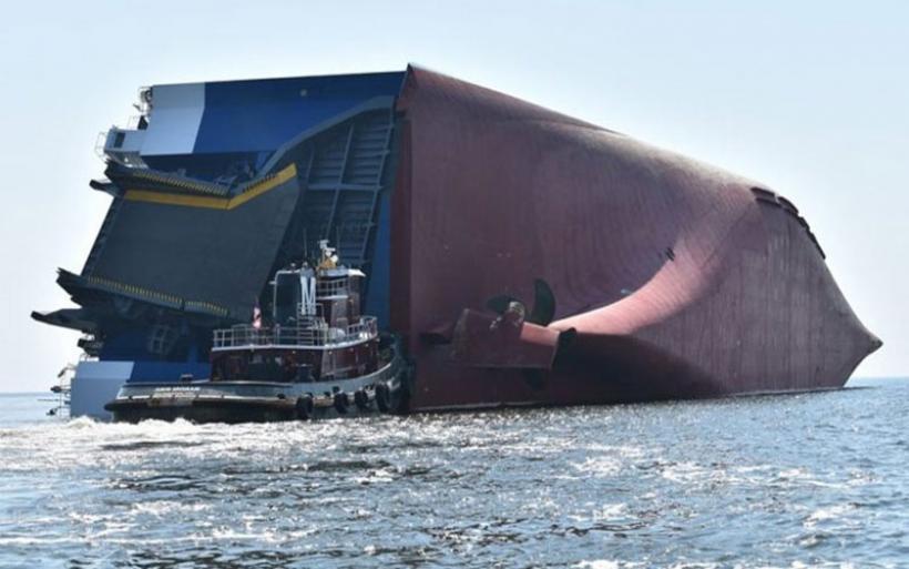 ΗΠΑ: Αίσιο τέλος στην επιχείρηση διάσωσης τεσσάρων ναυτικών από φορτηγό πλοίο