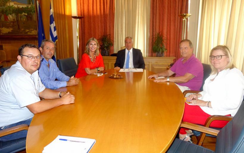 ΖΑΓΟΡΙΝ: Συνάντηση συνεργασίας με τον Υπουργό Αγροτικής Ανάπτυξης κ. Μάκη Βορίδη, κατόπιν πρωτοβουλίας της κας. Ζέττας Μακρή
