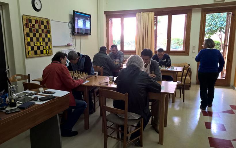 Σκακιστικοί αγώνες Final Four για την ανάδειξη της πρωταθλήτριας ομάδας της Κεντρικής Ελλάδας για το 2017