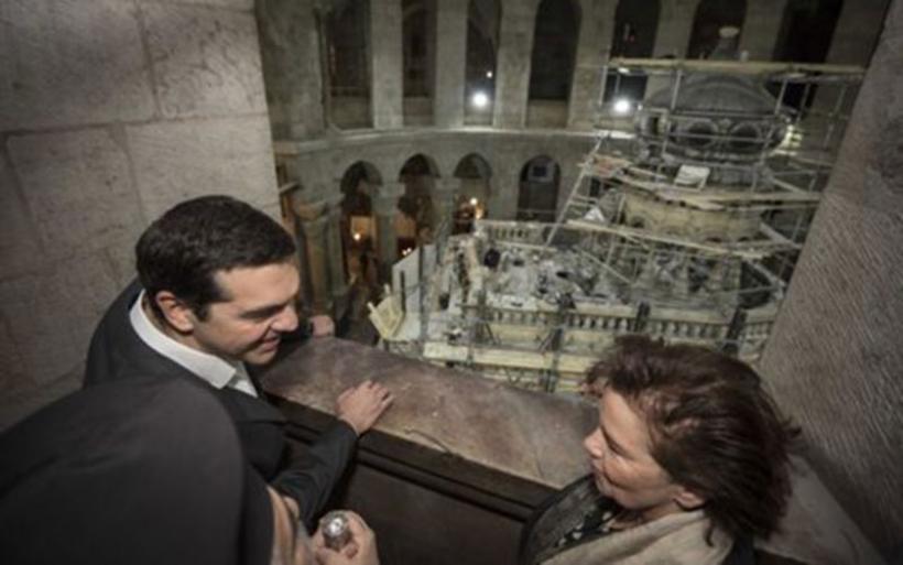 Στην Ιερουσαλήμ ο πρωθυπουργός για την τελετή στον Πανάγιο Τάφο