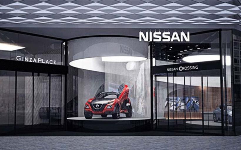 Εντυπωσιακή γκαλερί από τη Nissan στο Τόκιο