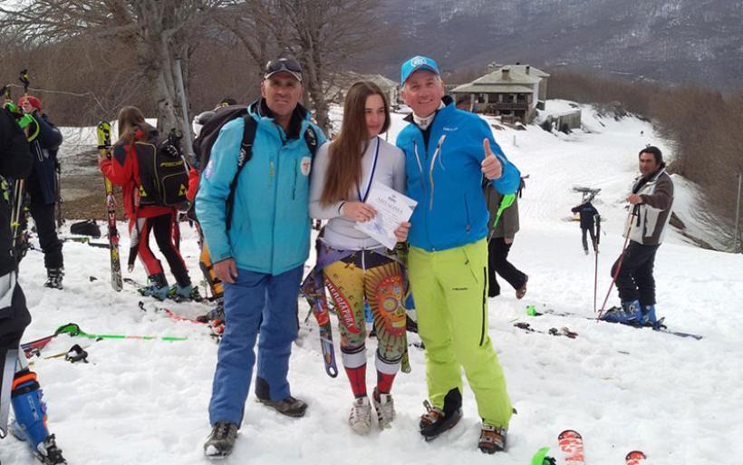 Ε.Ο.Σ. Αλμυρού: 2η θέση για την αθλήτρια Ιωάννα-Αφροδίτη Ταστσόγλου στους Πανελλήνιους αγώνες