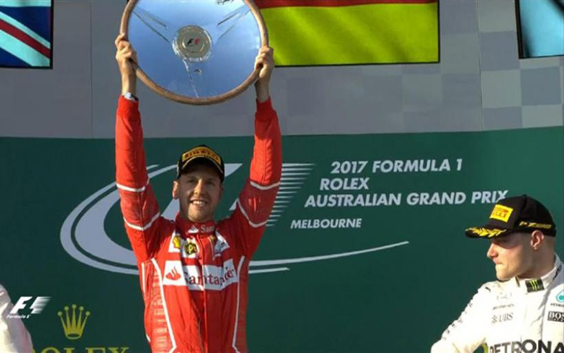 Formula 1: Ο Vettel με Ferrari νικητής στο GP της Αυστραλίας