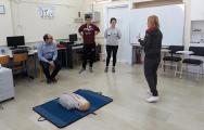 3ο Επίσημο Σεμινάριο Βασικής Υποστήριξης της Ζωής και χρήσης απινιδωτών στο Γυμνάσιο Ευξεινούπολης