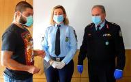 Νέες προστατευτικές ασπίδες από το Π.Θ. και την εταιρεία TED 3D στους αστυνομικούς της Θεσσαλίας