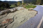 Έσπασε το φράγμα Σπαρμού στον Όλυμπο -Καταστράφηκαν καλλιέργειες
