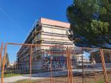 Ολοκληρώνονται οι εργασίες στην πίσω πλευρά του Γ.Ε.Λ Αλμυρού