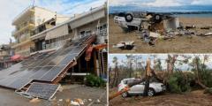 Σε κατάσταση έκτακτης ανάγκης η Χαλκιδική από τη φονική κακοκαιρία. 6 νεκροί 1 αγνοούμενος, δεκάδες τραυματίες