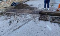 Eργασίες καθαρισμού σχαρών και φρεατίων ομβρίων υδάτων από το Δήμο Αλμυρού