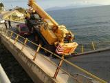 Καβάλα: Υποχώρησε η γέφυρα μπροστά στο παλιό νοσοκομείο
