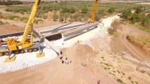 Ολοκληρώνεται η νέα  γέφυρα στο Χολόρεμα  Αλμυρού  που κατασκευάζει η Περιφέρεια Θεσσαλίας