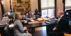 Συνάντηση Ζέττας Μακρή με την Υπ. Πολιτισμού για το θέμα του Δικαστικού Μεγάρου Βόλου