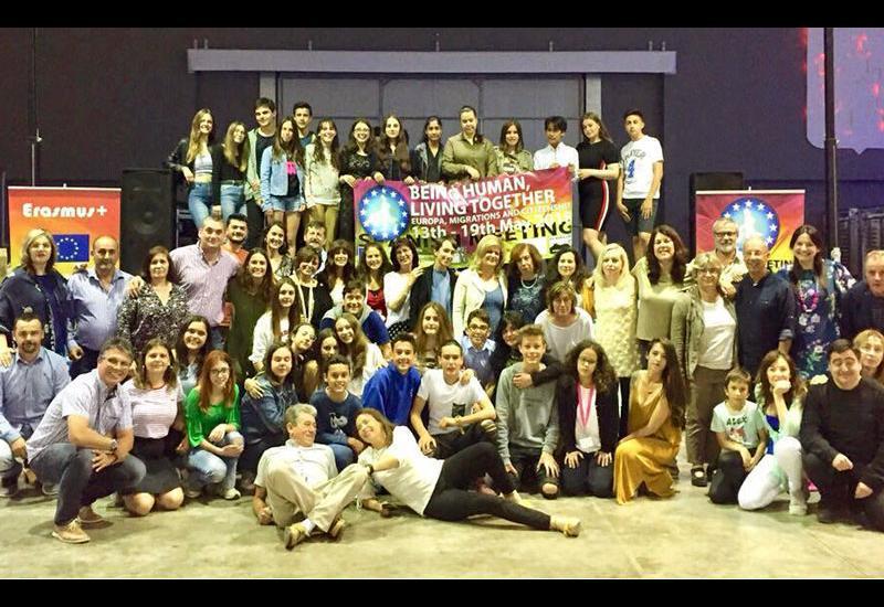 Το 2ο Γυμνάσιο Αλμυρού στην Ισπανία με το πρόγραμμα Erasmus+KA2