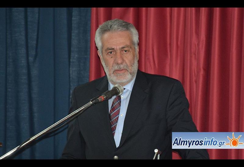 Ο Δ. Εσερίδης για την θεομηνία που έπληξε το Δήμο Αλμυρού