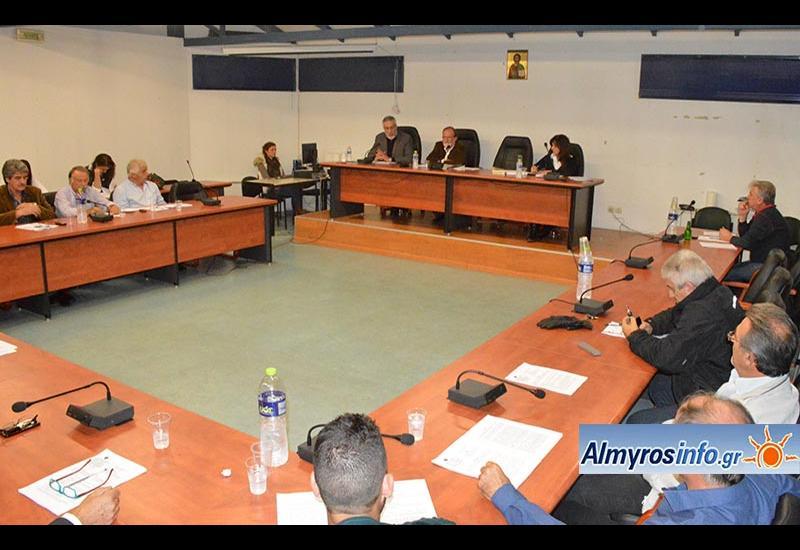 Τη διακοπή της ανάρτησης των δασικών χαρτών ζητά με ψήφισμά του το Δημοτικό Συμβούλιο Αλμυρού (βίντεο)