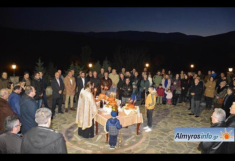 Τη μνήμη του Αγ. Αντωνίου τίμησε η Κοινότητα Πλατάνου (φωτο)