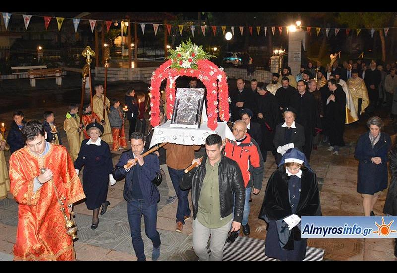 Με λαμπρότητα ο εορτασμός του Αγίου Νικολάου στον Αλμυρό (βίντεο&φωτο)