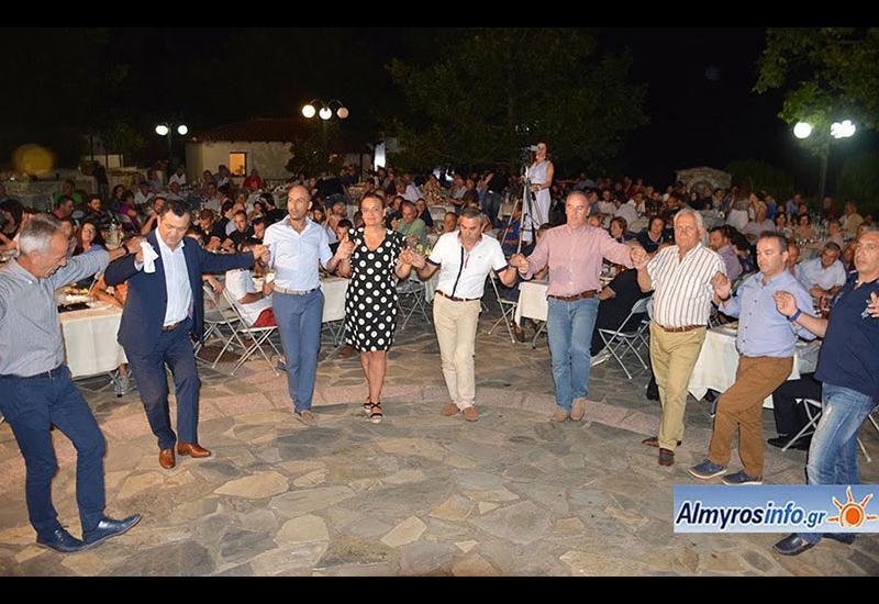 """Με επιτυχία ο  χορός του Πολιτιστικού Συλλόγου Φυλάκης """"ΠΡΩΤΕΣΙΛΑΟΣ"""" (βίντεο&φωτο)"""