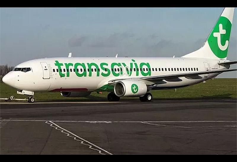 Ποδαρικό με την Transavia France στο αεροδρόμιο Ν. Αχγιάλου