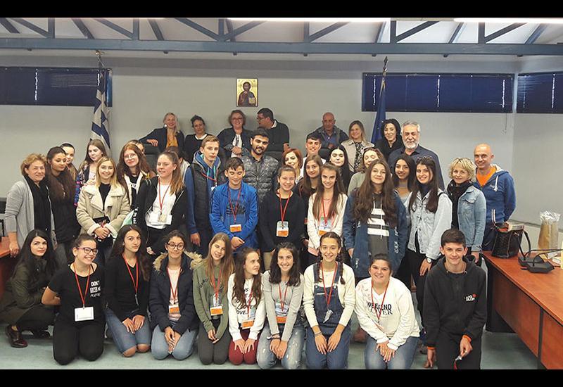 Εβδομάδα Ελληνικής φιλοξενίας στα πλαίσια του ERASMUS+ΚΑ2 στο Γυμνάσιο Ευξεινούπολης