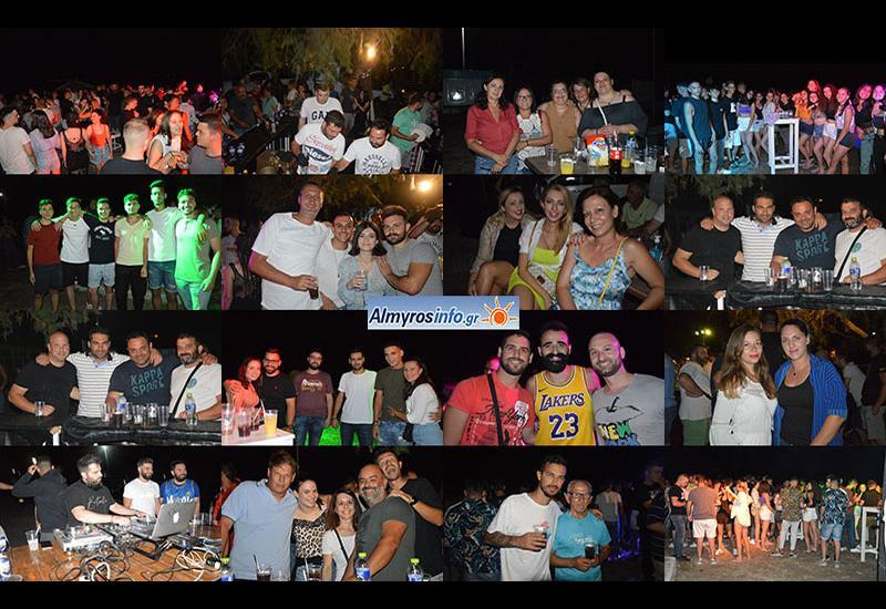 Φωτογραφίες από το summer beach party του Γ.Σ.Αλμυρού
