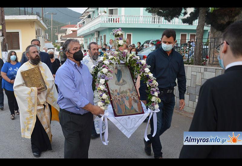 Ο εορτασμός της Αναλήψεως του Χριστού στο Αχίλλειο (βίντεο&φωτο)
